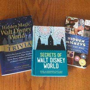 Disney World Parks Books